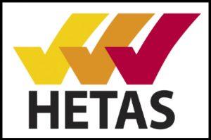 HETAS Listed Product Heat Hero