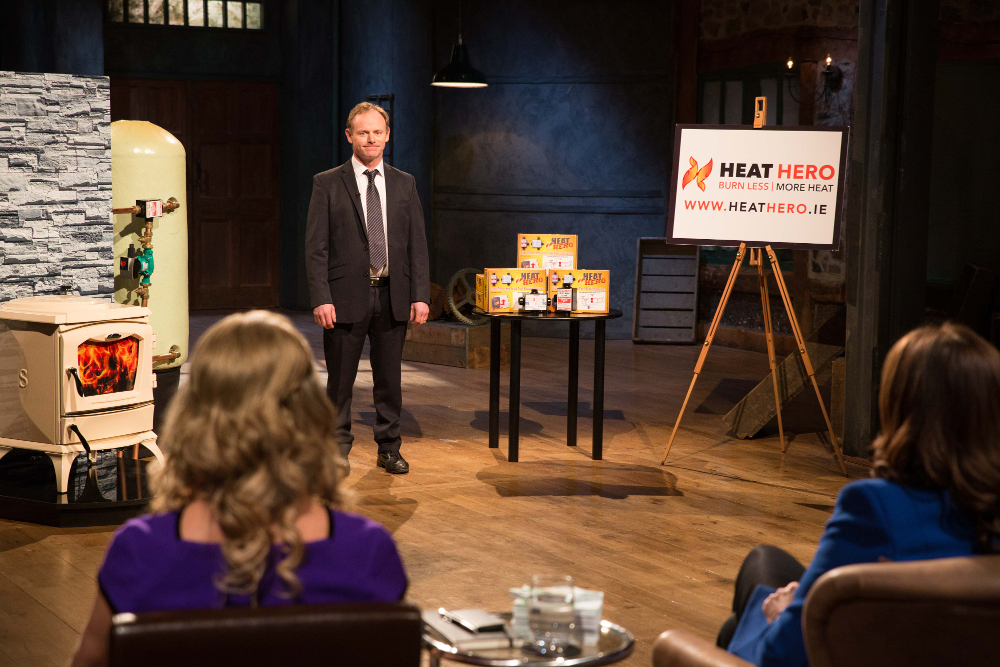 Watch Heat Hero on RTÉ's Dragon's Den