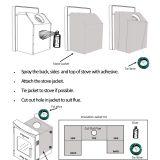 Stove Jacket Instructions