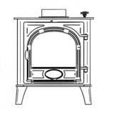 stove front